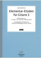 Elementar-Etüden für Gitarre. Band 3