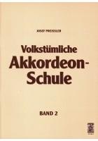 Volkstümliche Akkordeon-Schule, Band 2