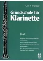 Grundschule für Klarinette, Band 1